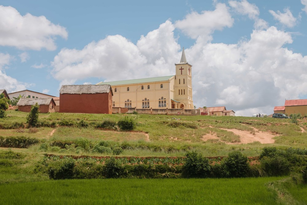 My friends church in the countryside.