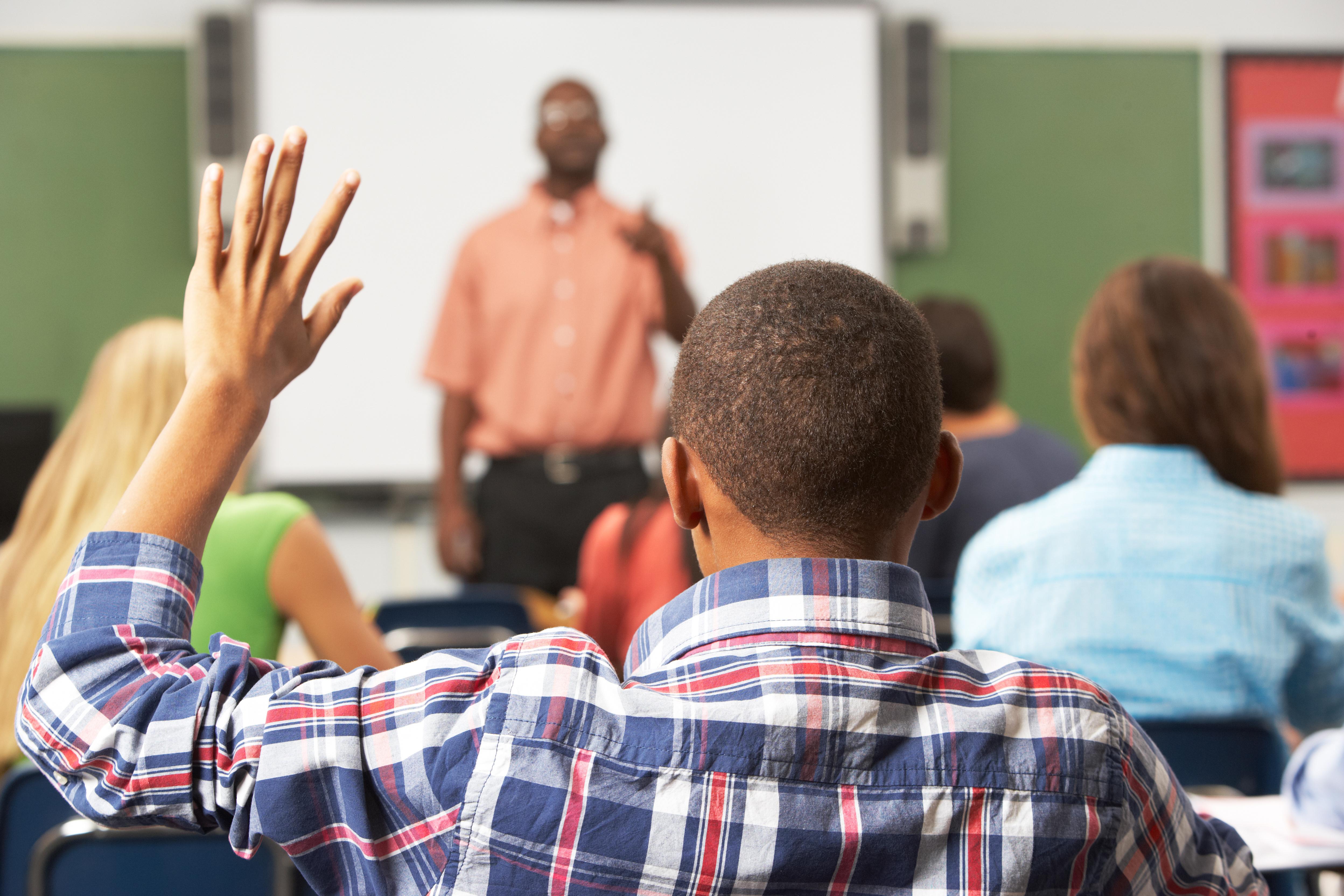 student-raising-hand