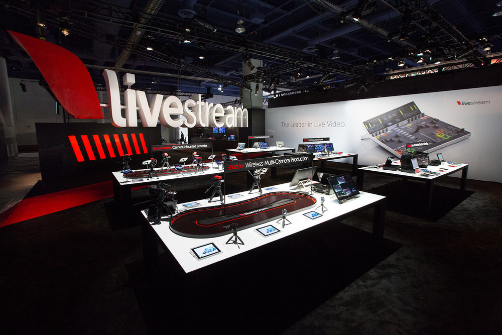 Livestream's Booth at NAB 2014, SL3305