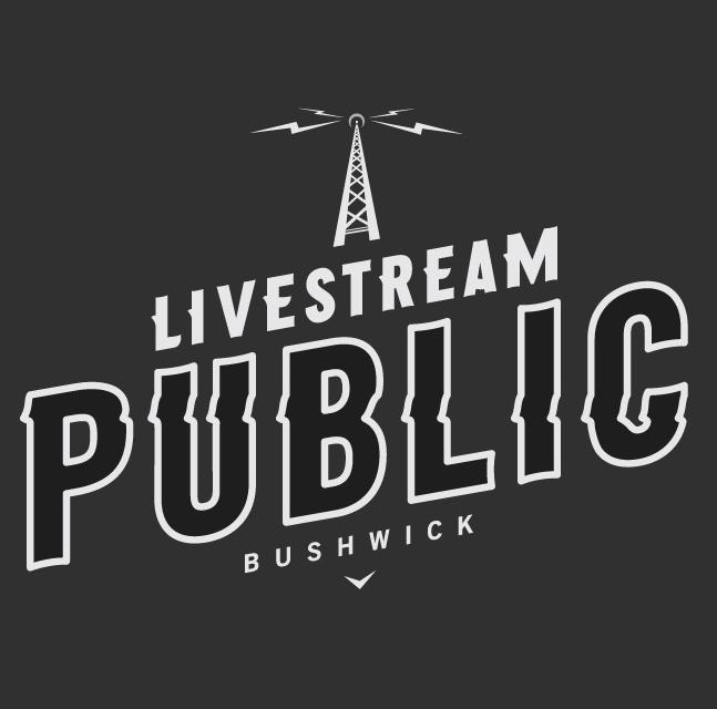Livestream Public Logo by Never of No Entry Design