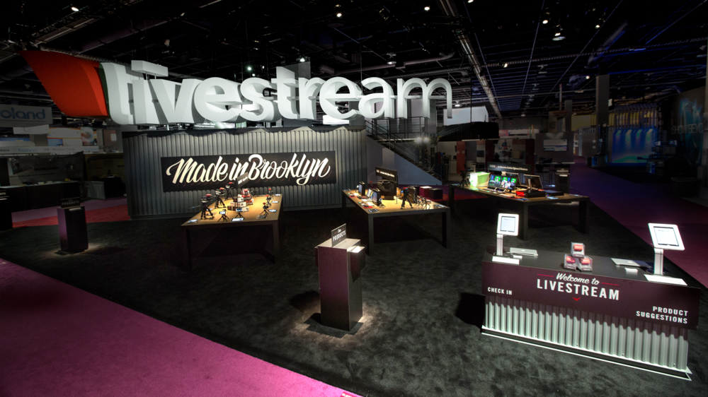 The Livestream Booth at NAB 2015