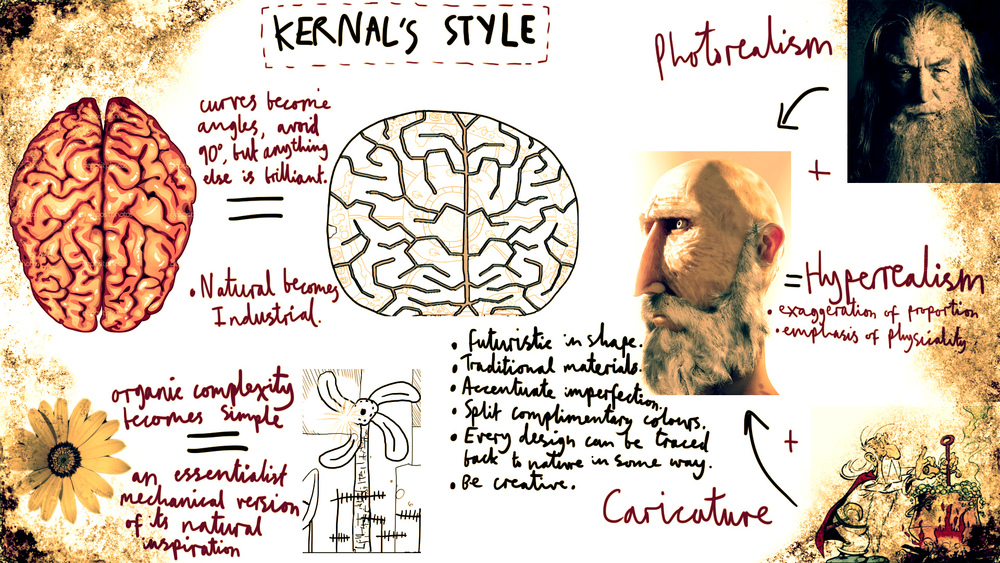 The style guide for Leonard and the world he inhabited.