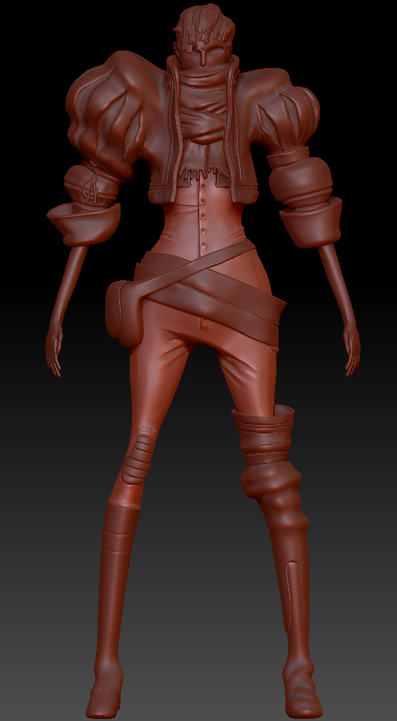 Early WIP sculpt