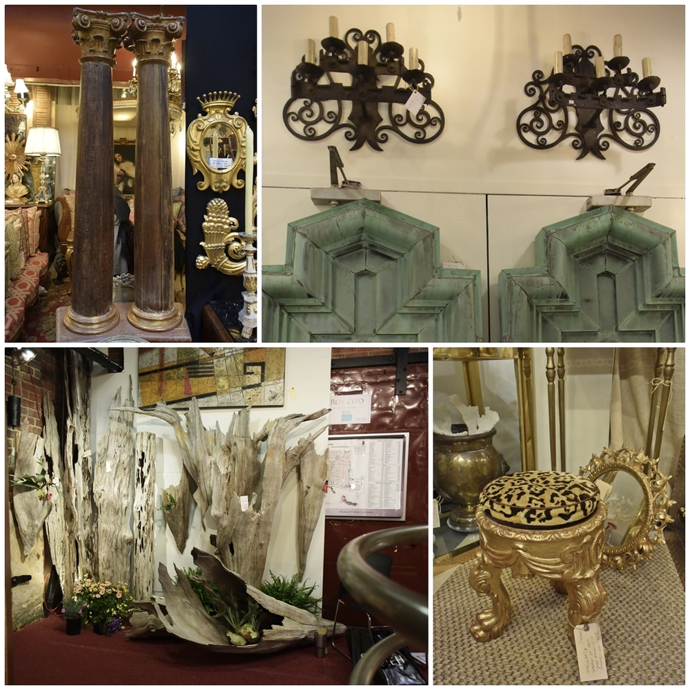 Various Vendors at the Antiques Center