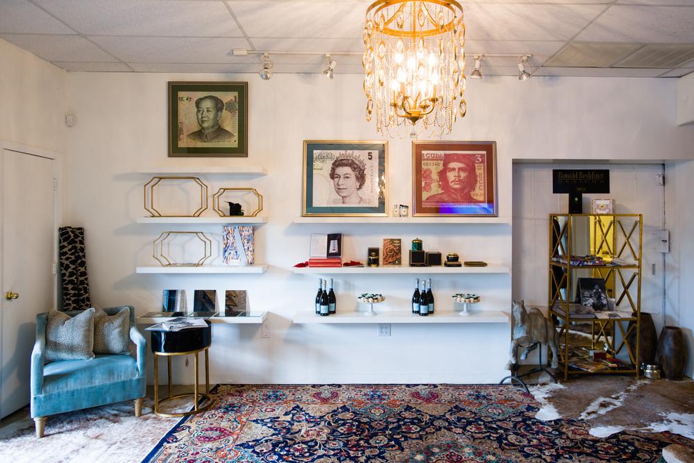 Regina Kay Interiors;Art by Jon-Erik Zayas