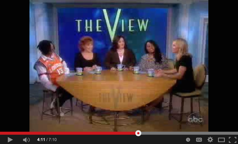 May 6, 2010 - Amy joins The View as the first ever Tea Party guest to discuss the growing movement with co-hosts Whoppi Goldberg, Joy Behar, Sherri Shepard and Elisabeth Hasselbeck. (7:10)
