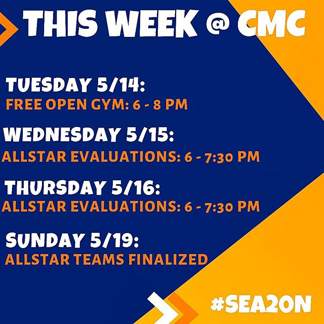Come see us tonight at FREE Open Gym to meet some of our staff, & prepare for allstar evaluations this week! If you can't make it by this week, contact us to schedule a private evaluation! You don't want to miss out on #SEA20N! See you soon!