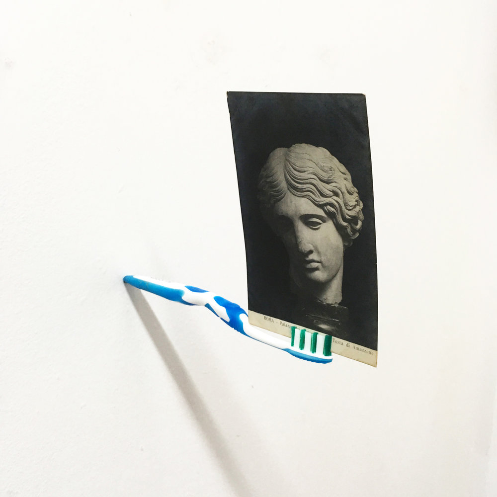 Toothbrush Head 2017 Toothbrush and Postcard