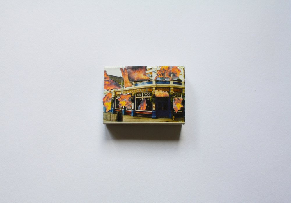 Pub Fire 2014 Adapted Matchbox