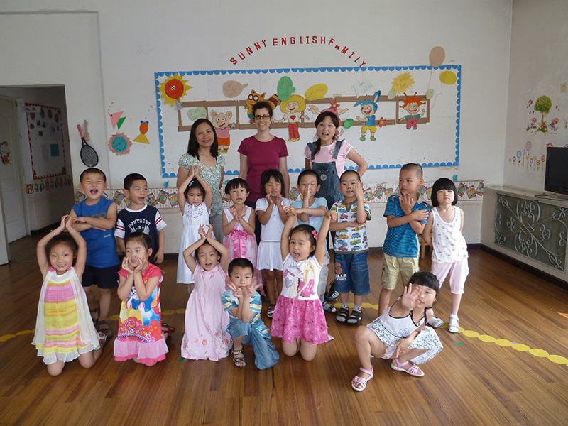 Visiting a preschool in Beijing