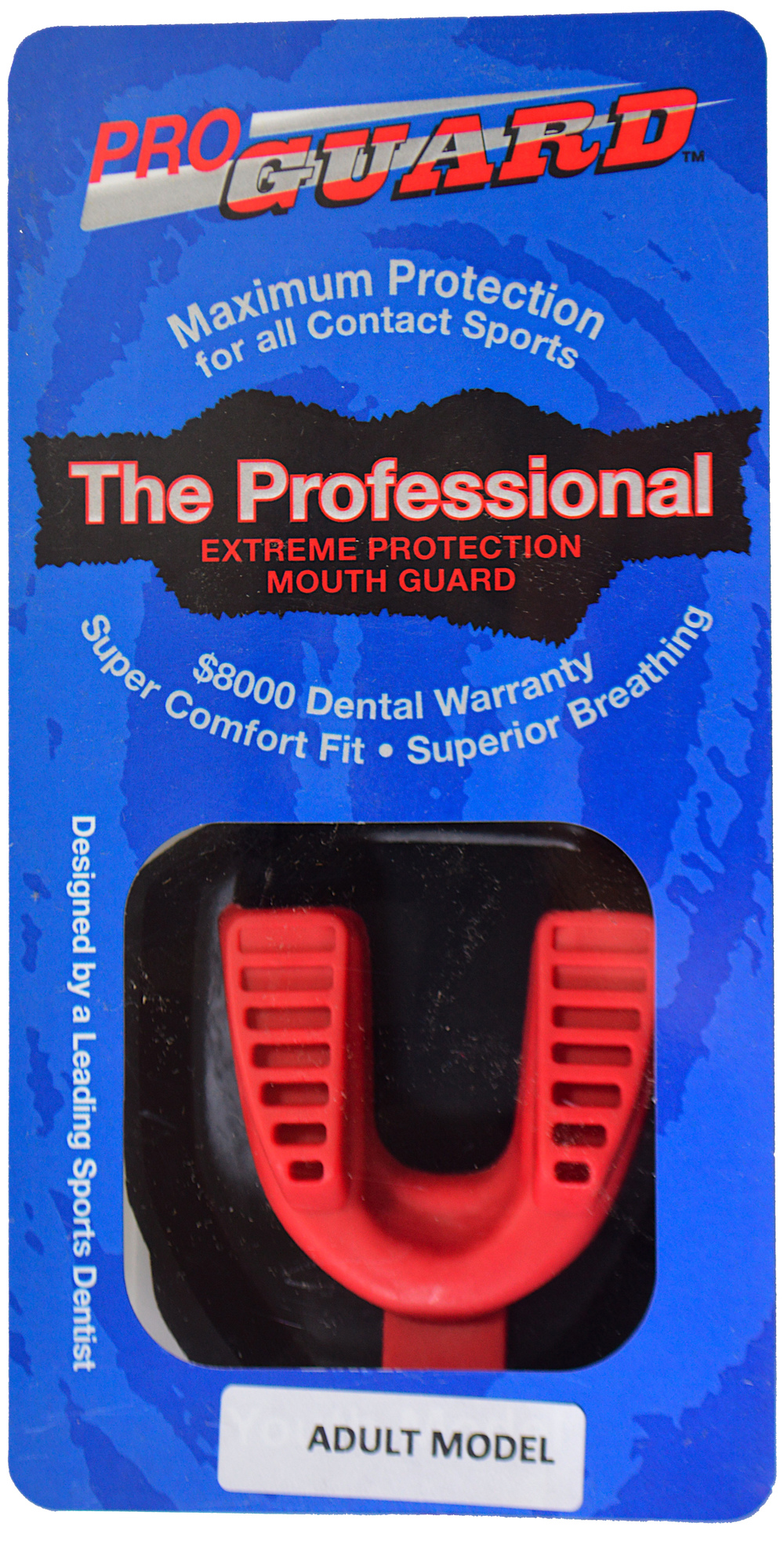 9000RD Red Adult Pro Mouthguard.jpg