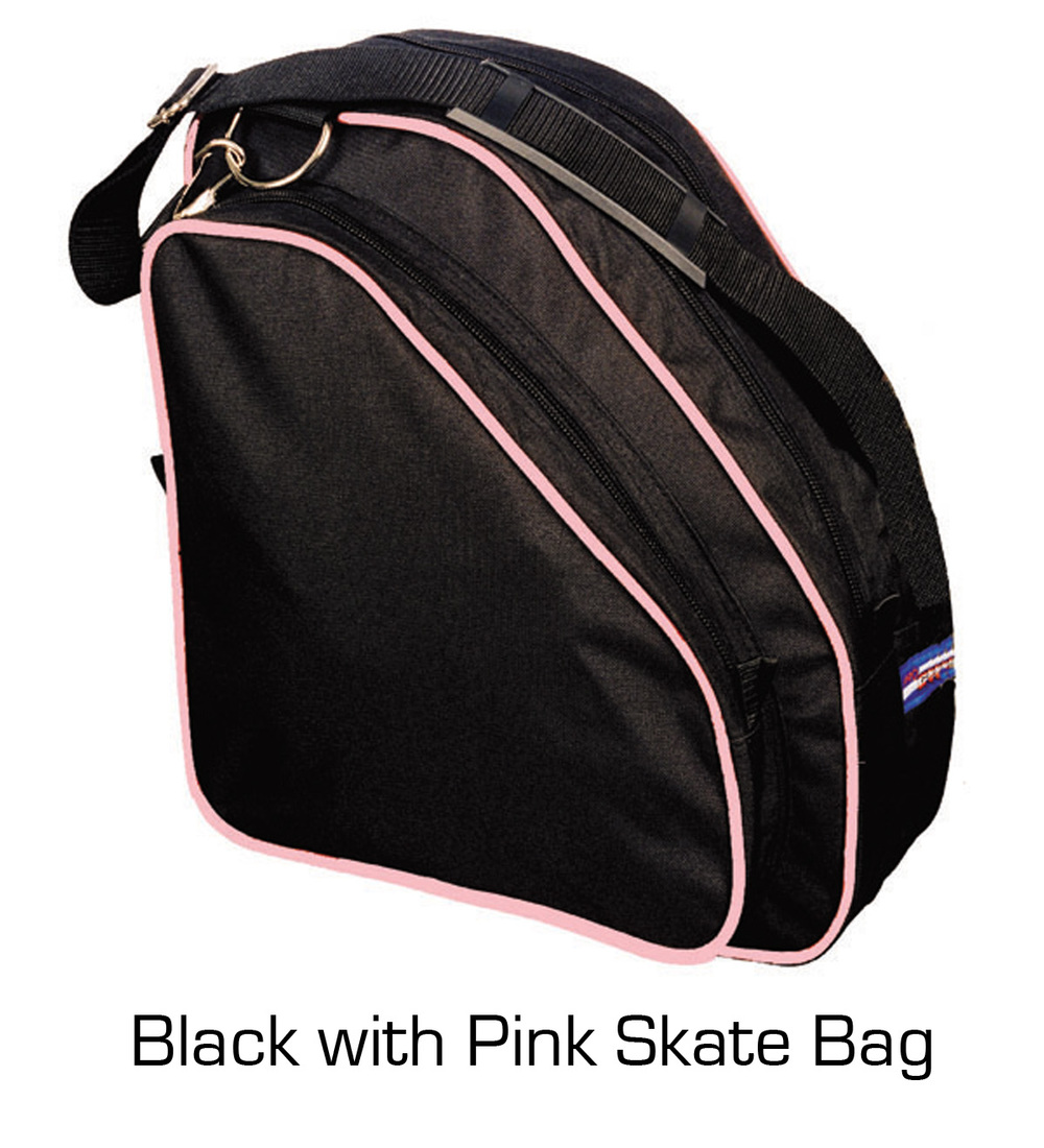 Skate Bag: Black with Pink