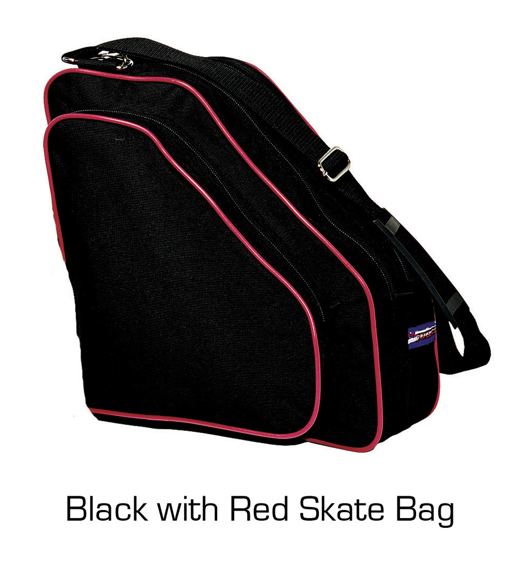 Skate Bag: Black with Red