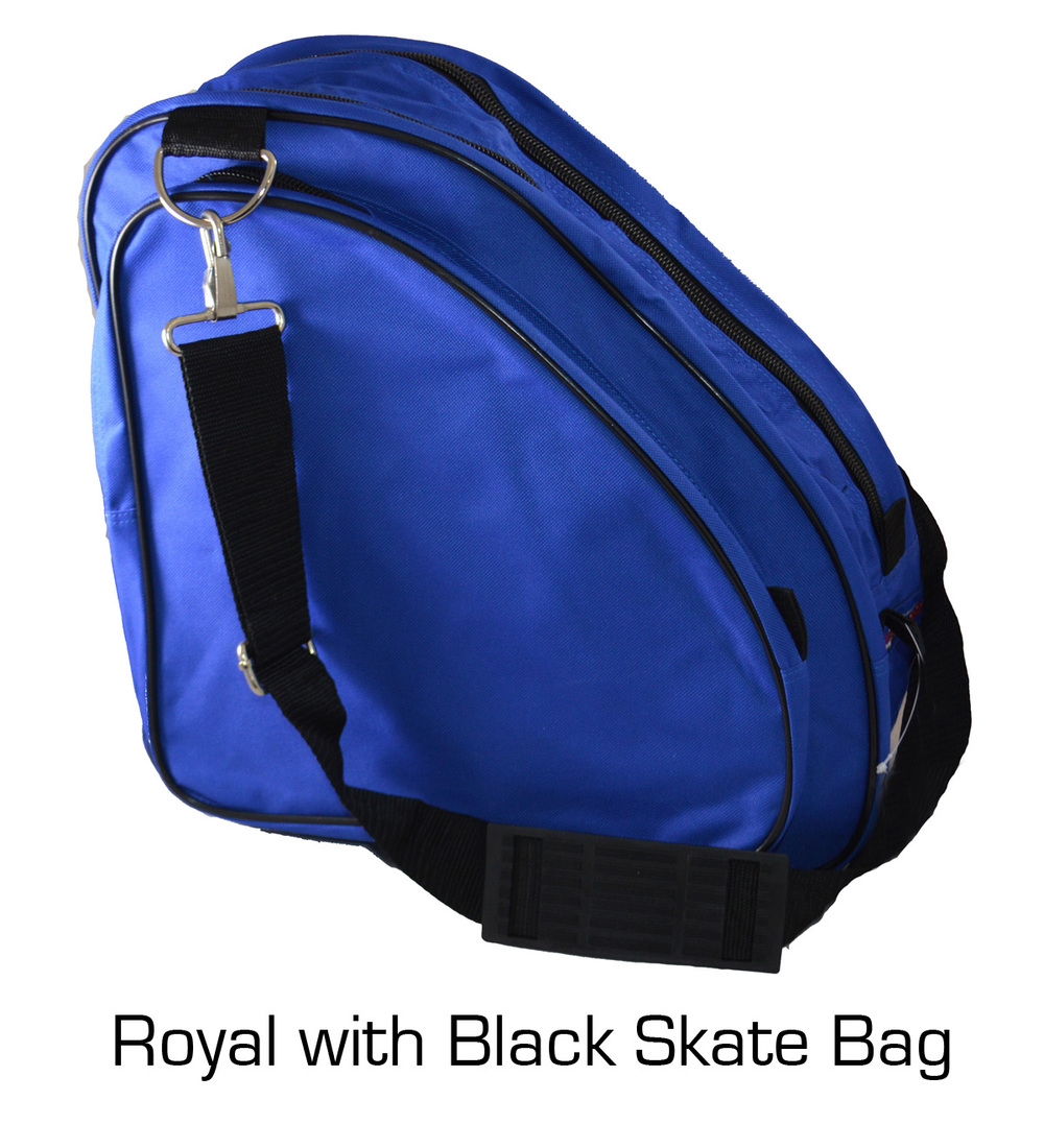 Skate Bag: Blue with Black