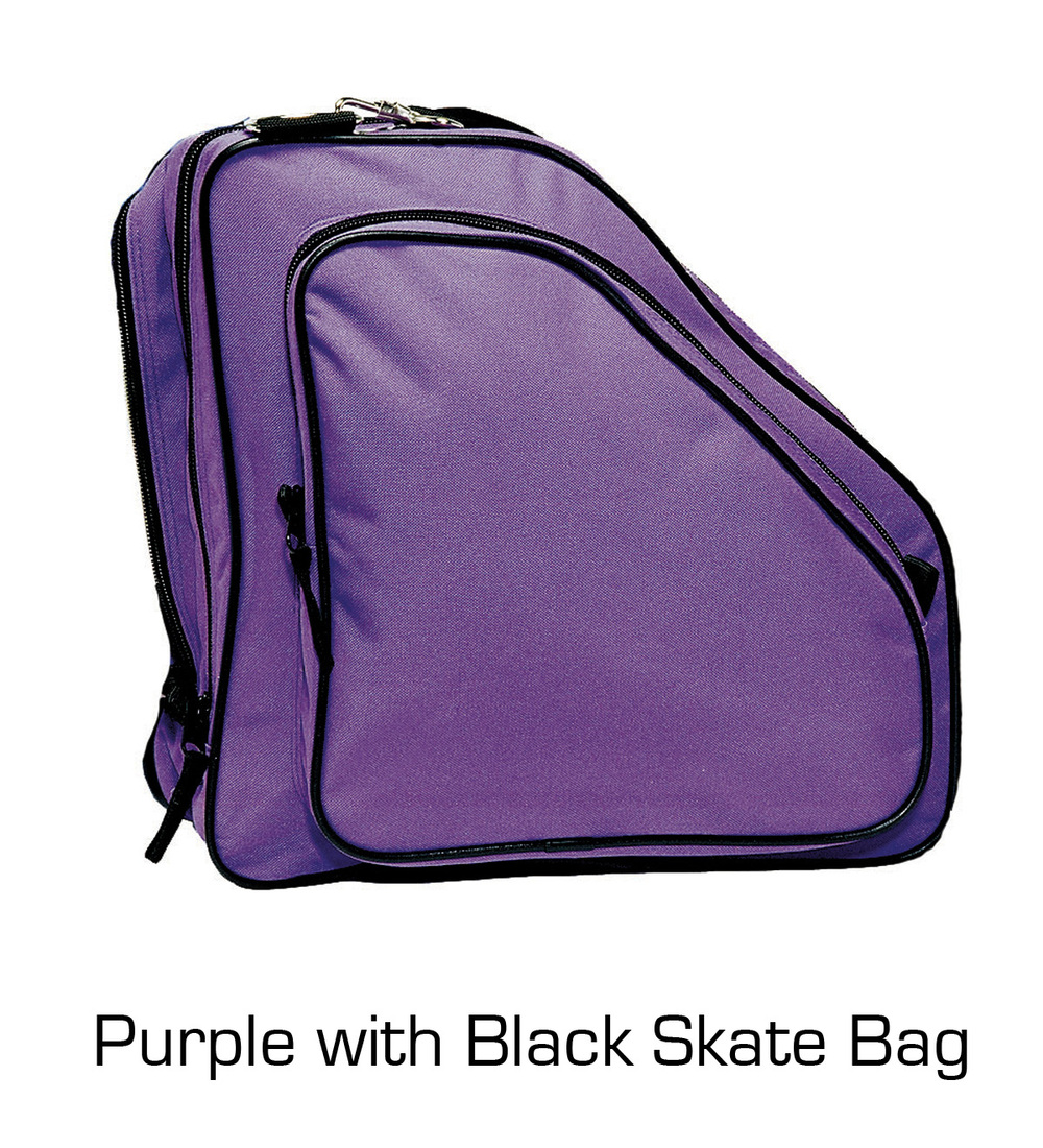 Skate Bag: Purple with Black