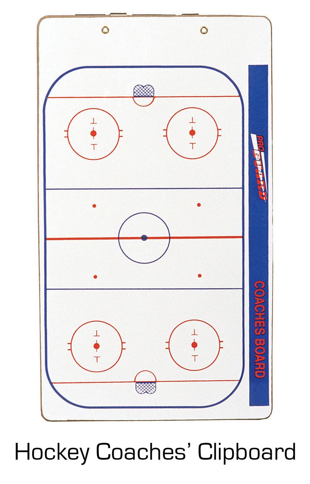 Hockey Coaches' Clipboard