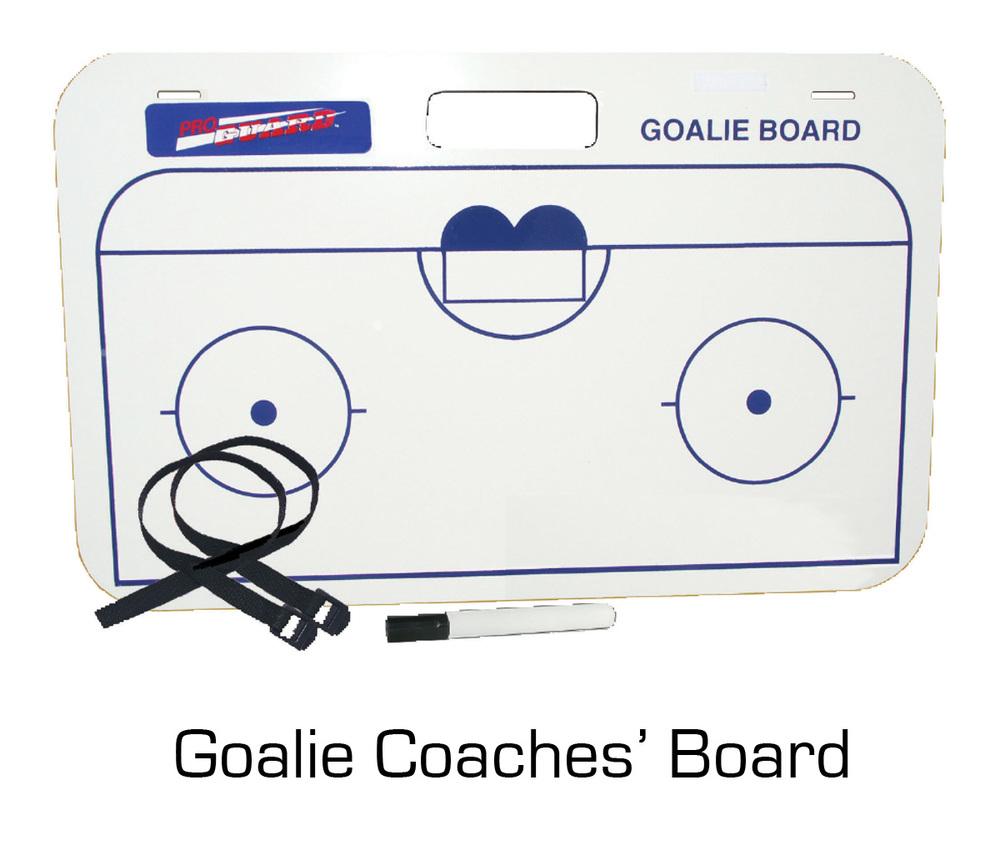 Goalie Coaches' Board