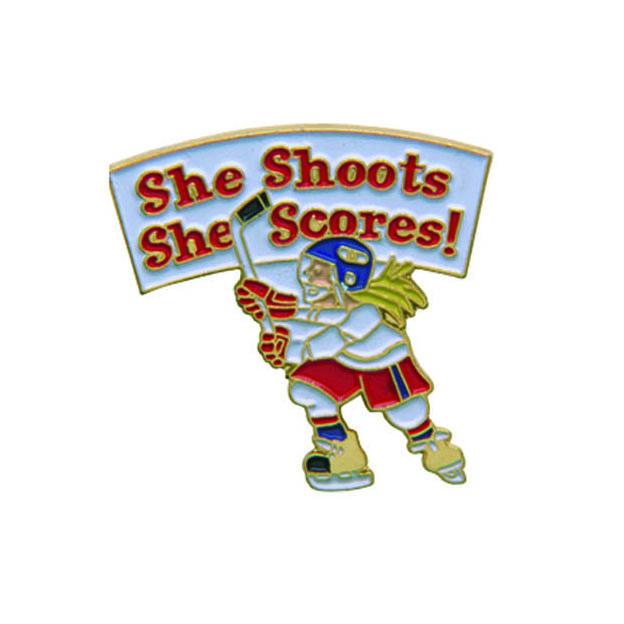 H206 She Shoots She Scores Pin.jpg