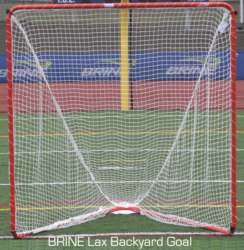 Brine Lax Backyard Goal