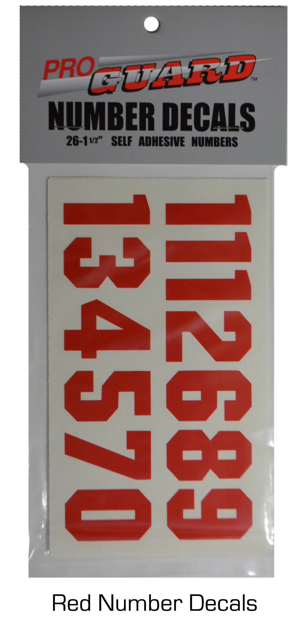 Helmet Number Decals