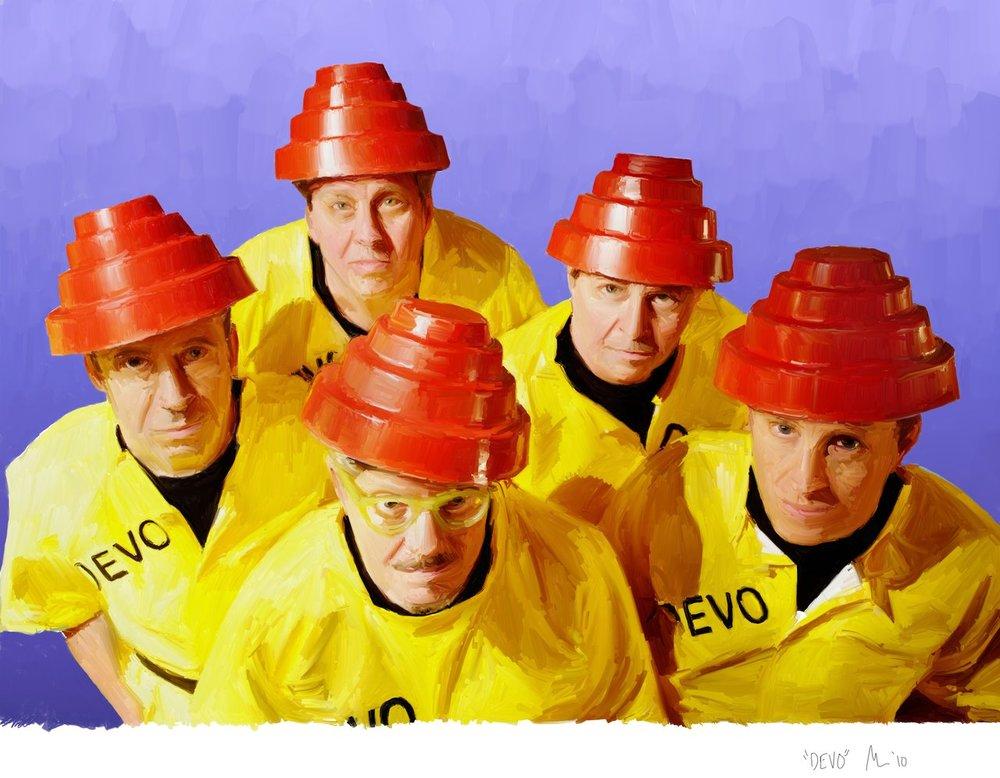 The Band Devo - Creators of  Whip It!