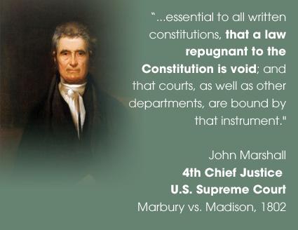marbury vs madison conclusion