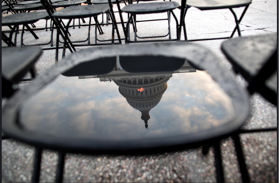Turn your computer upside down to view the U.S. Capitol right side up.