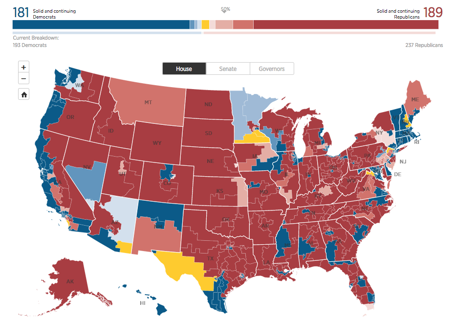 Yellow = Toss-Up   AP US Government and Politics Lesson Plans