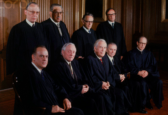 The 1972 Supreme Court, AKA: Judgez to Men