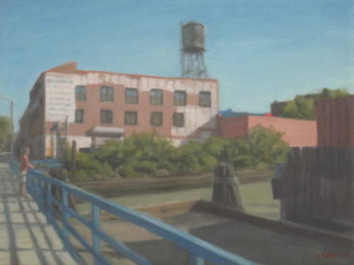 Water Tower by Gowanus Canal, 2013