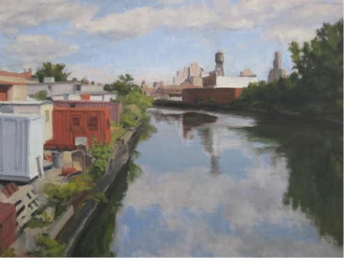 Canal Cloud Reflections, 2010
