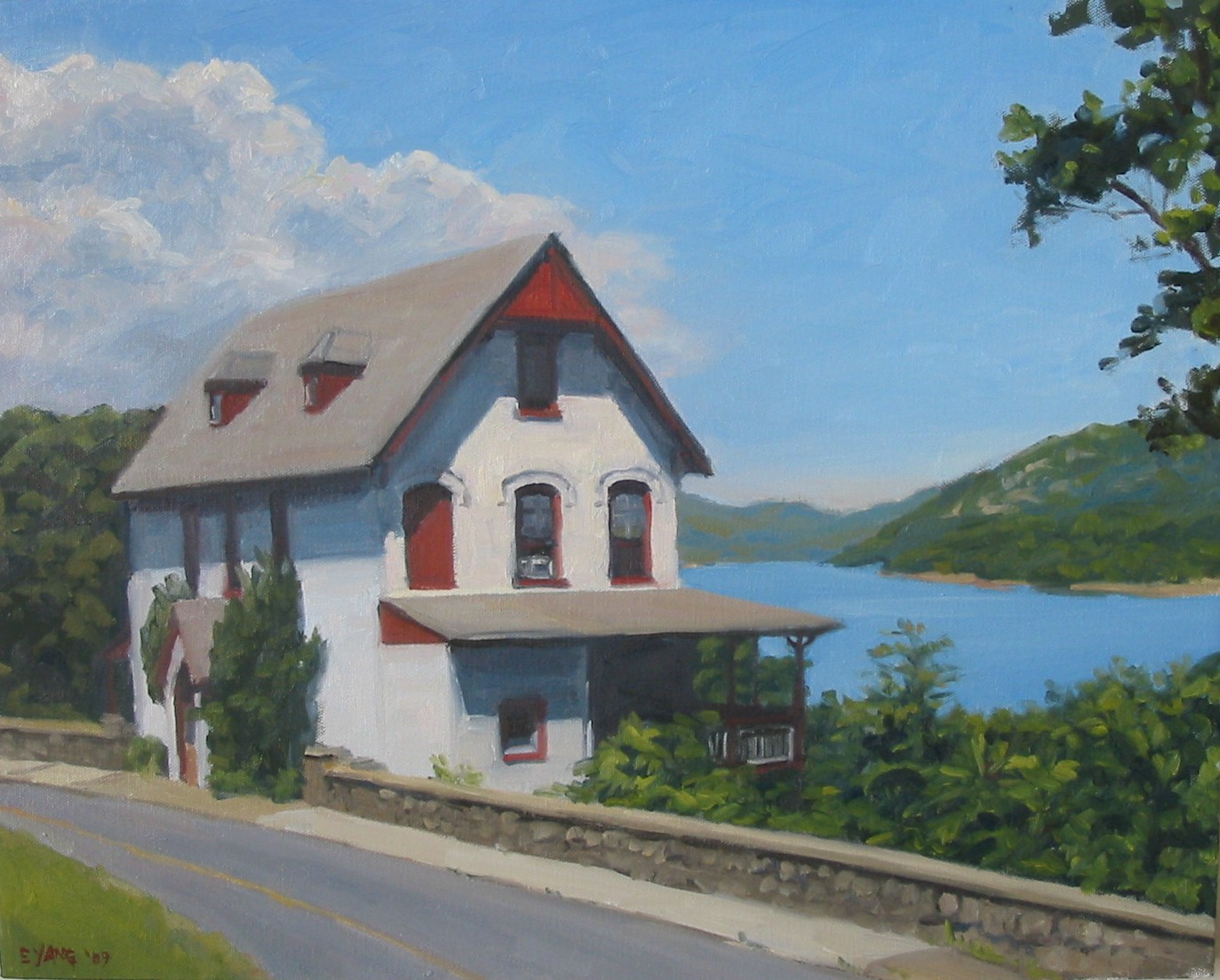 House Overlooking the Hudson