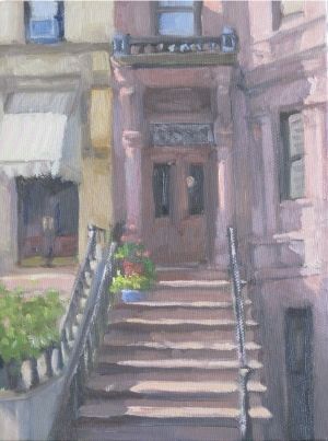 Stoop and awning