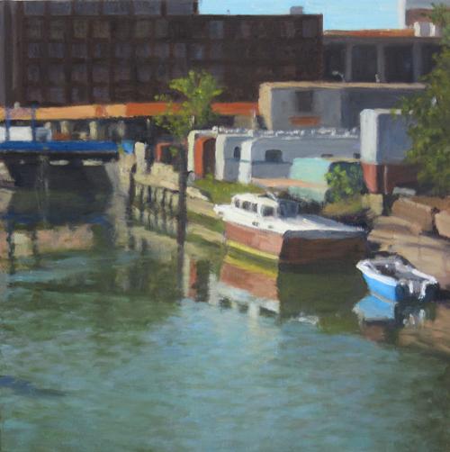 Boats on Gowanus, 2016