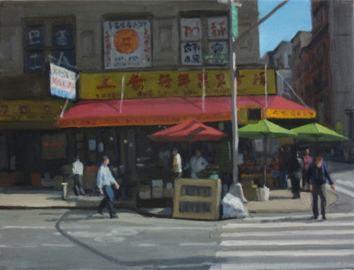 Chinatown Umbrellas, 2016