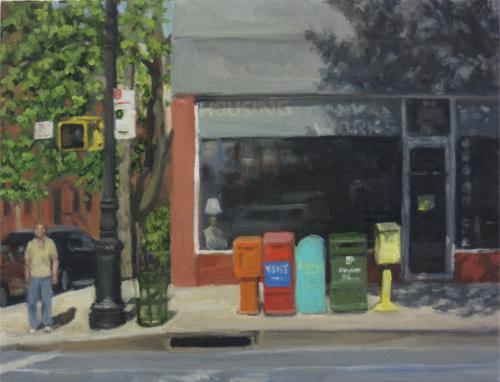 Sidewalk Boxes, 2016