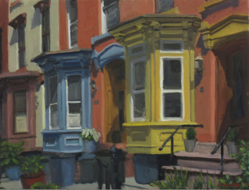 Yellow and Blue Bay Windows, 2016