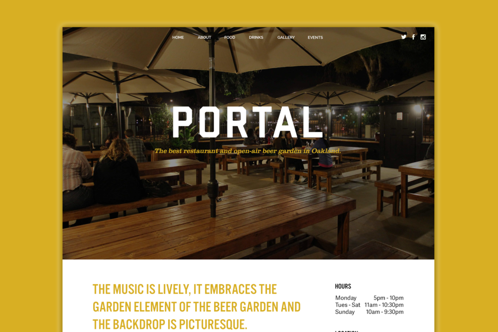 Portal Website Design