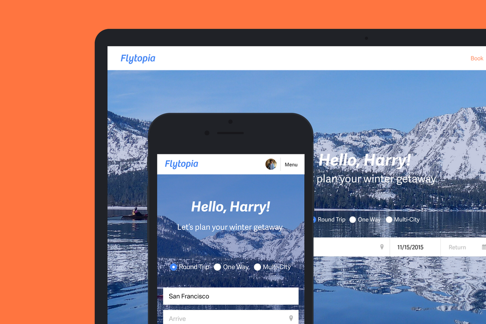 Flytopia: A New Flight Booking Experience