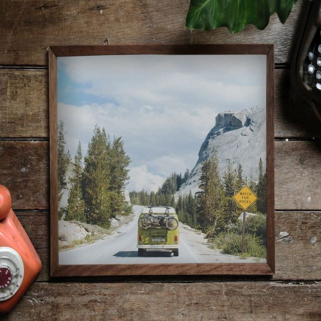 #OMG!! Only three days until Christmas!! ☃️🎁⠀ Last chance to buy my prints at special prices, starting at $10!  Link in Bio 📸⠀ I photographed this one in #yosemite, very #Californian right?⠀ ⠀ @darkroom #darkroom #yosemite #california #volkswagenvan #VW#lansdcapephotography #road #landscape#decor #designyourhouse#printphotography #printshop #prints#printing #shop #framed #photooftheday#instagood #instaweek #christmasgift#ChristmasPresents#christmaspresentideas #Christmas2018#Holidayishere #Gifts #ChristmasShopping⠀