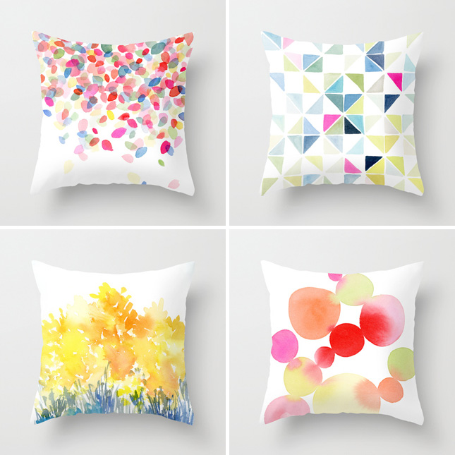 Watercolor Pillow WorkshopThursday August 27th 7p gather