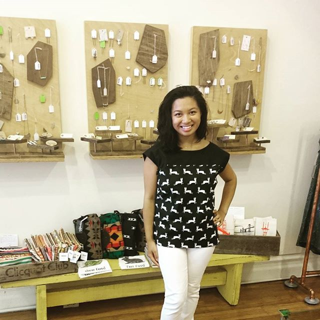 It's your last chance to wear white (do you follow that silly rule?)! We love Harumi K's bunny top paired with fresh white jeans. All sizes just restocked in the shop!