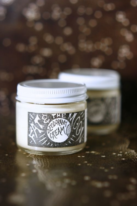 Deodorant Cream $14 made from coconut oil and completely aluminum free (and it WORKS!)