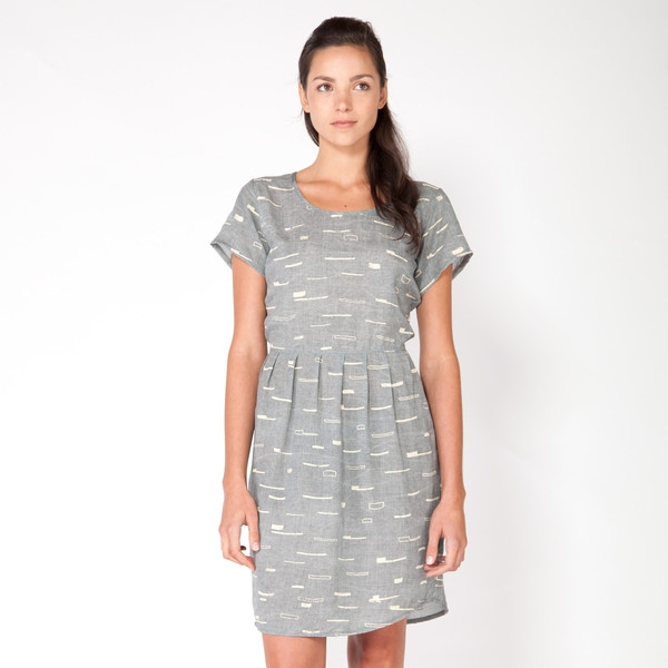 Sails Scoop Neck Dress $139