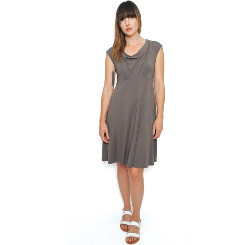 Classic Dress in Charcoal $139