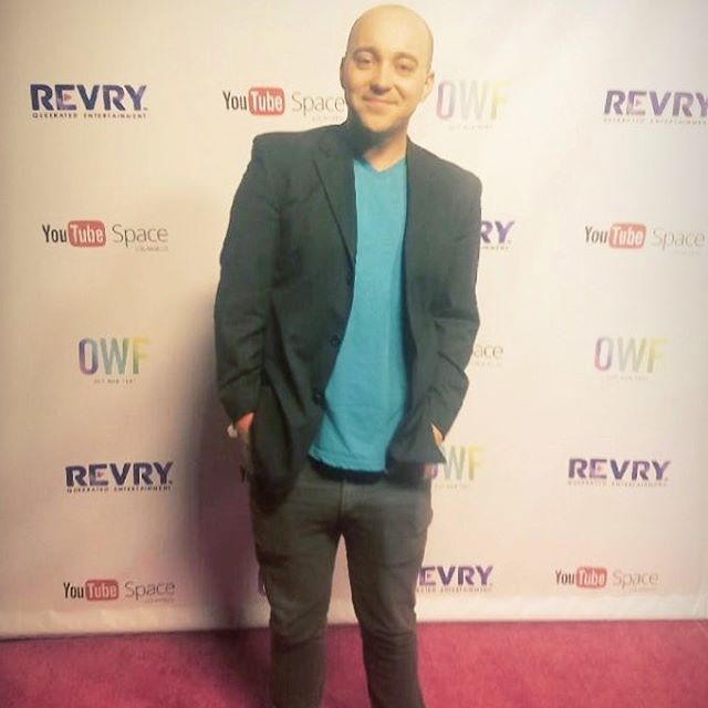 Red Carpet #outwebfest #youtubespacela #unsurepositive 😎