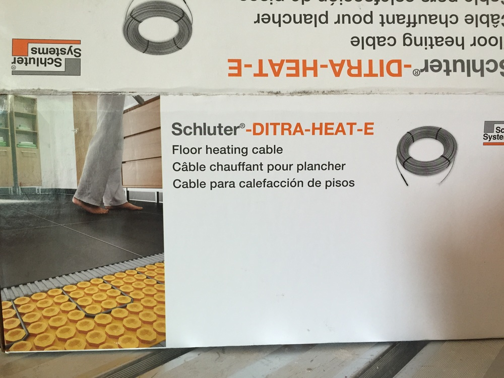 How To Plan For In Floor Heating Radiant Heat In Your Bath
