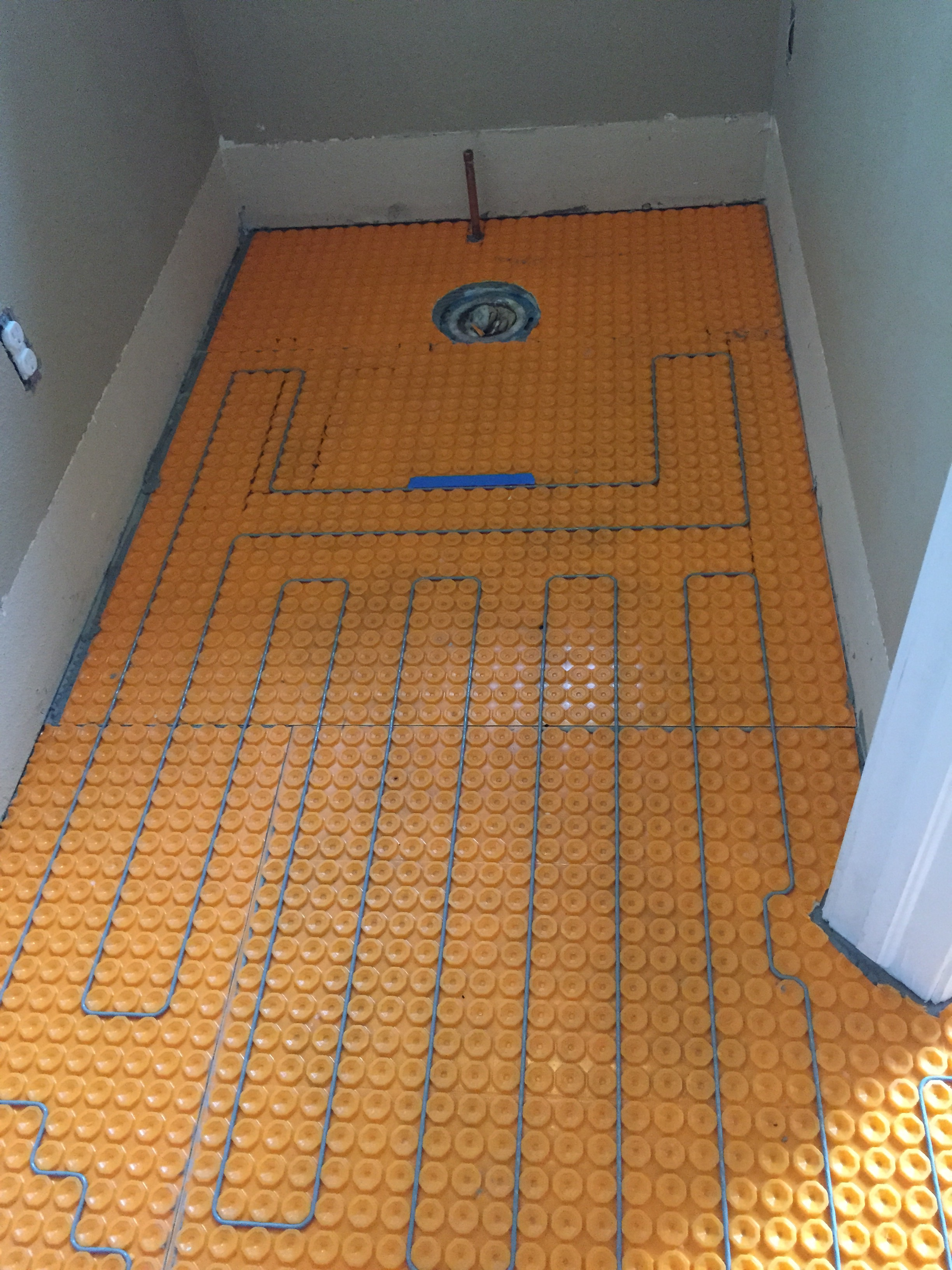 How To Plan For In Floor Heating / Radiant Heat In Your Bath U2014 Sanctuary  Kitchen And Bath Design