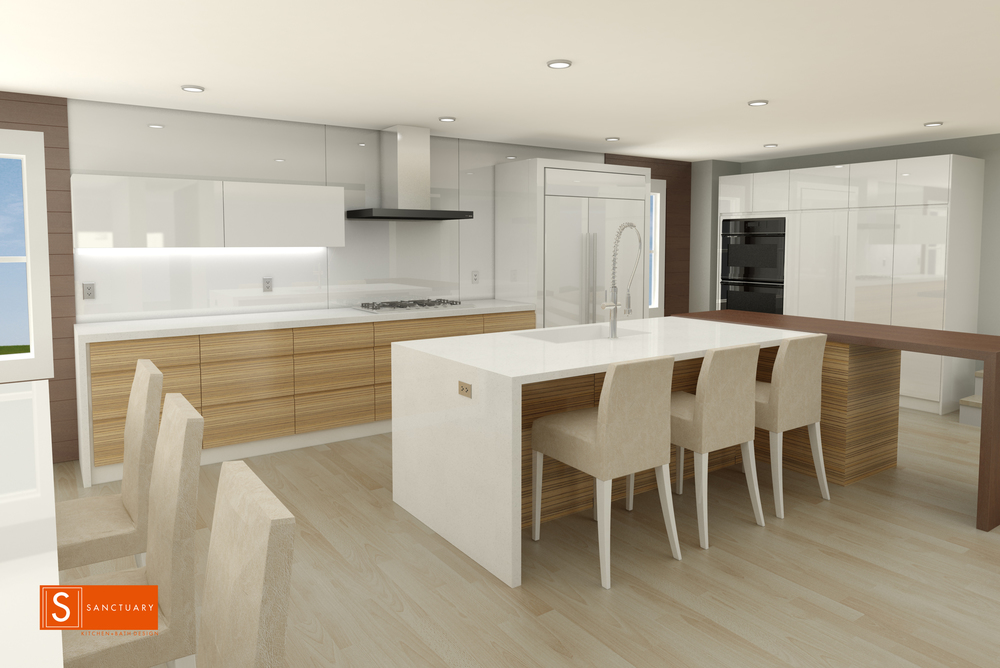 On The Drawing Board   Boulder Modern Kitchen U2014 Sanctuary Kitchen And Bath  Design