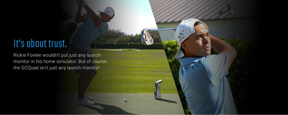 DeMane Golf only uses the latest launch monitor tech just like the top players on the PGA Tour.